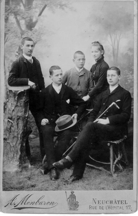 1885~ Alfred, Eugène, Edouard, Marie-Cécile, Charles Edouard Cellier